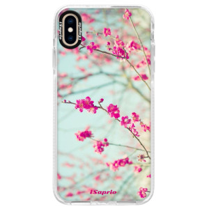 Silikonové pouzdro Bumper iSaprio Blossom 01 na mobil Apple iPhone XS Max