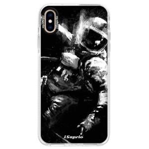 Silikonové pouzdro Bumper iSaprio Astronaut 02 na mobil iPhone XS Max