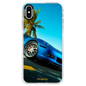 Silikonové pouzdro Bumper iSaprio Car 10 na mobil Apple iPhone XS Max