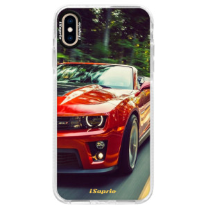 Silikonové pouzdro Bumper iSaprio Chevrolet 02 na mobil Apple iPhone XS Max