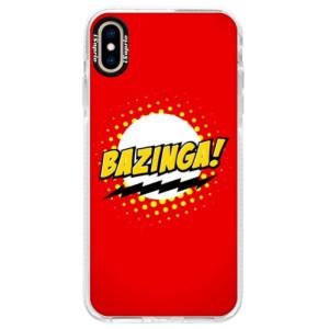 Silikonové pouzdro Bumper iSaprio Bazinga 01 na mobil iPhone XS Max