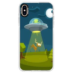 Silikonové pouzdro Bumper iSaprio Alien 01 na mobil iPhone XS Max