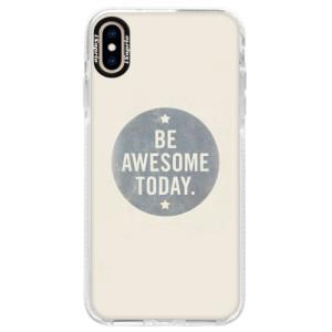 Silikonové pouzdro Bumper iSaprio Awesome 02 na mobil iPhone XS Max