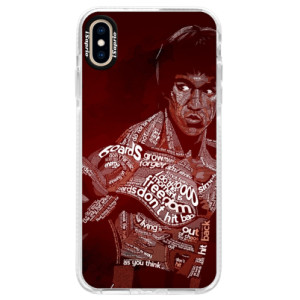 Silikonové pouzdro Bumper iSaprio Bruce Lee na mobil Apple iPhone XS Max