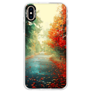 Silikonové pouzdro Bumper iSaprio Autumn 03 na mobil iPhone XS Max