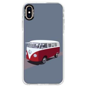 Silikonové pouzdro Bumper iSaprio VW Bus na mobil Apple iPhone XS Max