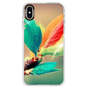 Silikonové pouzdro Bumper iSaprio Autumn 02 na mobil iPhone XS Max