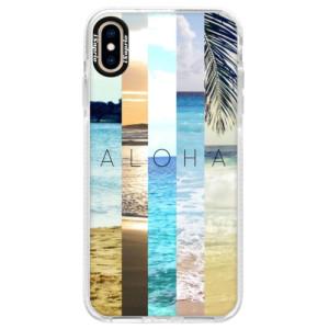 Silikonové pouzdro Bumper iSaprio Aloha 02 na mobil iPhone XS Max