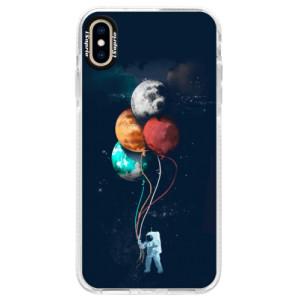 Silikonové pouzdro Bumper iSaprio Balloons 02 na mobil iPhone XS Max