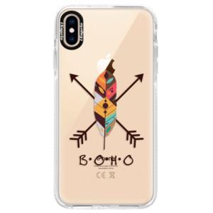 Silikonové pouzdro Bumper iSaprio BOHO na mobil Apple iPhone XS Max