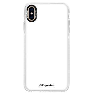 Silikonové pouzdro Bumper iSaprio 4Pure bílé na mobil iPhone XS Max
