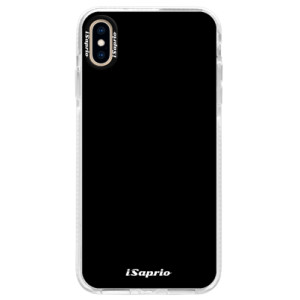 Silikonové pouzdro Bumper iSaprio 4Pure černé na mobil iPhone XS Max