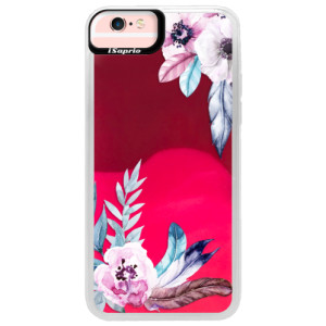 Neonové pouzdro Pink iSaprio Flower Pattern 04 na mobil Apple iPhone 6/6S