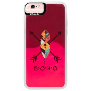 Neonové pouzdro Pink iSaprio BOHO na mobil Apple iPhone 6/6S