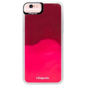 Neonové pouzdro Pink iSaprio 4Pure mléčné bez potisku na mobil iPhone 6/6S