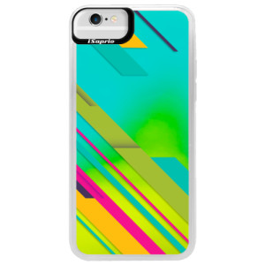 Neonové pouzdro Blue iSaprio Color Stripes 03 na mobil Apple iPhone 6/6S