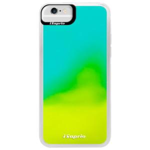 Neonové pouzdro Blue iSaprio 4Pure mléčné bez potisku na mobil iPhone 6/6S