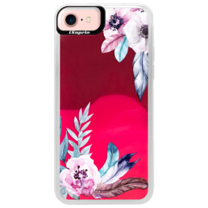 Neonové pouzdro Pink iSaprio Flower Pattern 04 na mobil Apple iPhone 7