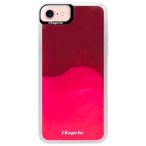 Neonové pouzdro Pink iSaprio 4Pure mléčné bez potisku na mobil iPhone 7