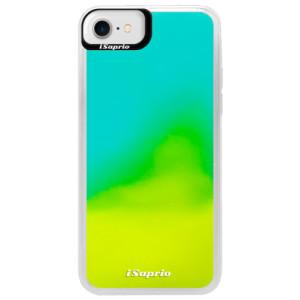 Neonové pouzdro Blue iSaprio 4Pure mléčné bez potisku na mobil iPhone 7