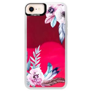 Neonové pouzdro Pink iSaprio Flower Pattern 04 na mobil Apple iPhone 8