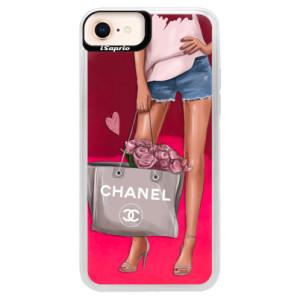 Neonové pouzdro Pink iSaprio Fashion Bag na mobil Apple iPhone 8