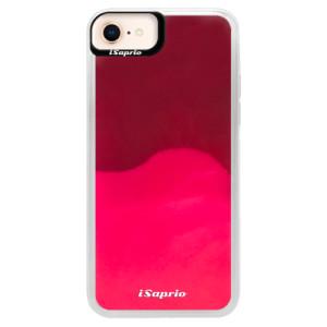Neonové pouzdro Pink iSaprio 4Pure mléčné bez potisku na mobil iPhone 8