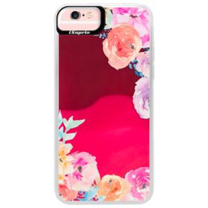 Neonové pouzdro Pink iSaprio Flower Brush na mobil Apple iPhone 6 Plus/6S Plus