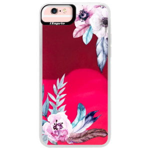 Neonové pouzdro Pink iSaprio Flower Pattern 04 na mobil Apple iPhone 6 Plus/6S Plus