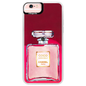 Neonové pouzdro Pink iSaprio Chanel Rose na mobil Apple iPhone 6 Plus/6S Plus