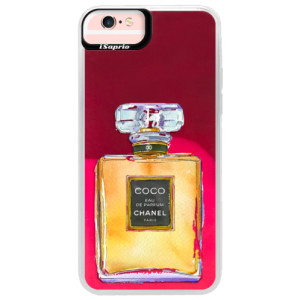 Neonové pouzdro Pink iSaprio Chanel Gold na mobil Apple iPhone 6 Plus/6S Plus