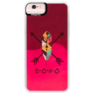 Neonové pouzdro Pink iSaprio BOHO na mobil Apple iPhone 6 Plus/6S Plus