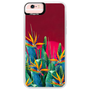 Neonové pouzdro Pink iSaprio Exotic Flowers na mobil Apple iPhone 6 Plus/6S Plus