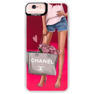 Neonové pouzdro Pink iSaprio Fashion Bag na mobil Apple iPhone 6 Plus/6S Plus