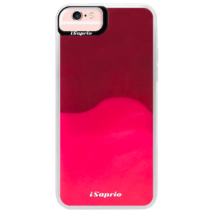 Neonové pouzdro Pink iSaprio 4Pure mléčné bez potisku na mobil iPhone 6 Plus/6S Plus