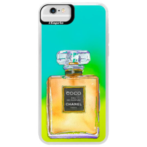 Neonové pouzdro Blue iSaprio Chanel Gold na mobil Apple iPhone 6 Plus/6S Plus