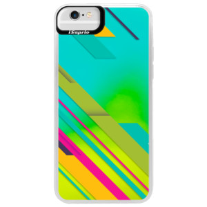 Neonové pouzdro Blue iSaprio Color Stripes 03 na mobil Apple iPhone 6 Plus/6S Plus