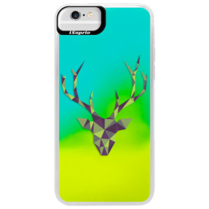 Neonové pouzdro Blue iSaprio Deer Green na mobil Apple iPhone 6 Plus/6S Plus