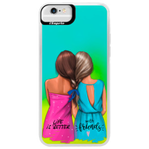 Neonové pouzdro Blue iSaprio Best Friends na mobil Apple iPhone 6 Plus/6S Plus