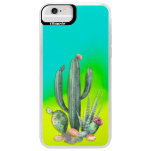 Neonové pouzdro Blue iSaprio Cacti 02 na mobil Apple iPhone 6 Plus/6S Plus