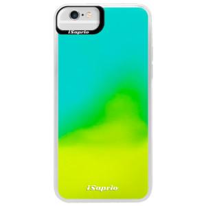 Neonové pouzdro Blue iSaprio 4Pure mléčné bez potisku na mobil iPhone 6 Plus/6S Plus