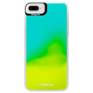 Neonové pouzdro Blue iSaprio 4Pure mléčné bez potisku na mobil iPhone 7 Plus