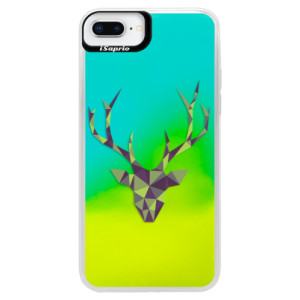 Neonové pouzdro Blue iSaprio Deer Green na mobil Apple iPhone 8 Plus