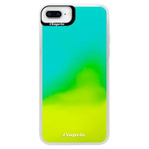 Neonové pouzdro Blue iSaprio 4Pure mléčné bez potisku na mobil iPhone 8 Plus