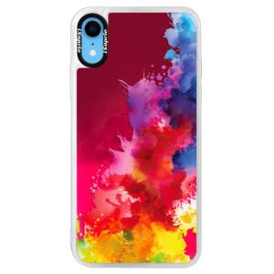 Neonové pouzdro Pink iSaprio Color Splash 01 na mobil Apple iPhone XR
