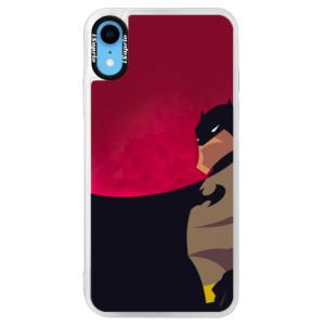 Neonové pouzdro Pink iSaprio BaT Comics na mobil iPhone XR
