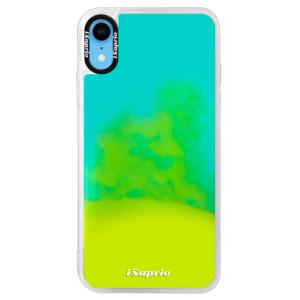 Neonové pouzdro Blue iSaprio 4Pure mléčné bez potisku na mobil iPhone XR