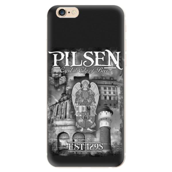 Silikonový kryt iSaprio - Pilsen Beer City pro mobil Apple iPhone 6/ 6S