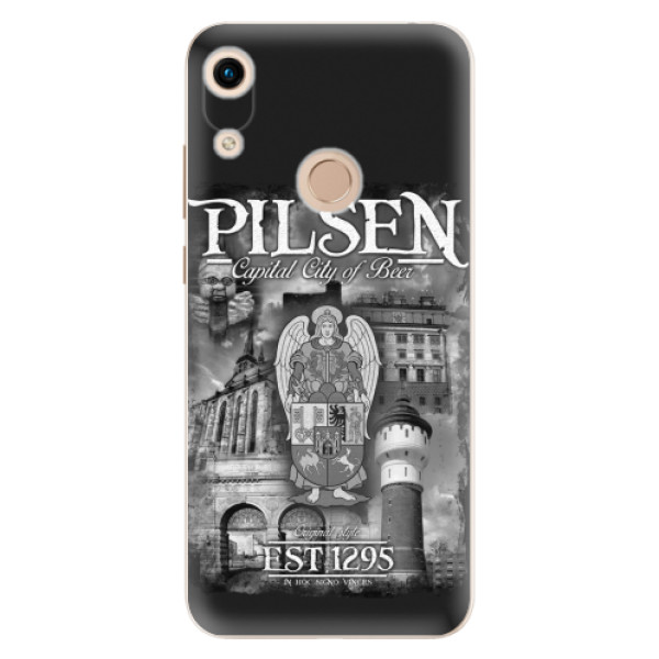 Silikonový kryt iSaprio - Pilsen Beer City pro mobil Honor 8A
