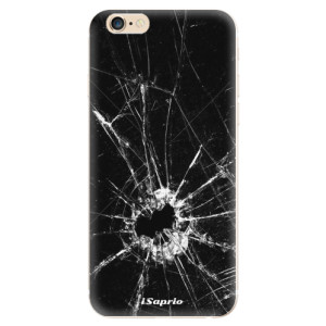 Silikonové odolné pouzdro iSaprio Broken Glass 10 na mobil Apple iPhone 6 / Apple iPhone 6S